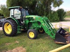 Tractor For Sale:  2013 John Deere 6115D , 115 HP