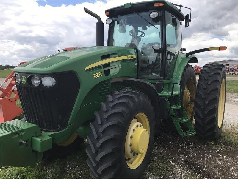 2007 John Deere 7830 Tractor For Sale