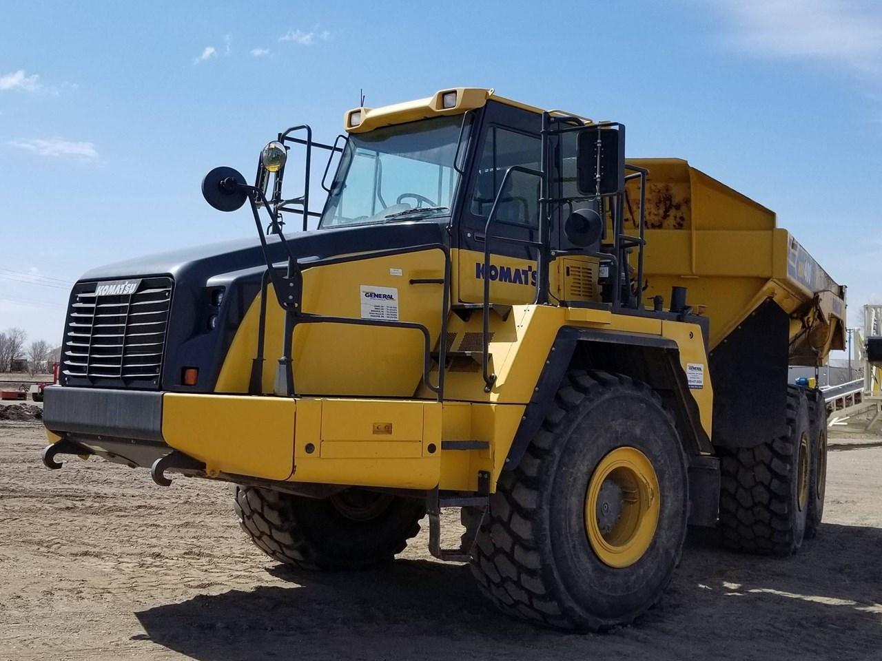 2012 Komatsu HM400-3 End Dump Truck For Sale