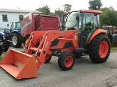 Tractor For Sale 2012 Kubota M7040 2WD CAB LDR , 62 HP