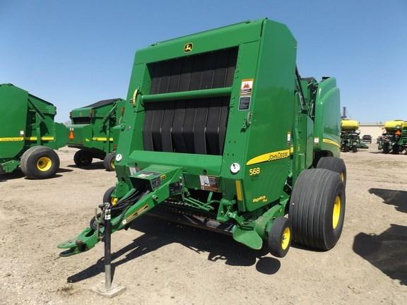 2012 John Deere 568 Baler-Round For Sale