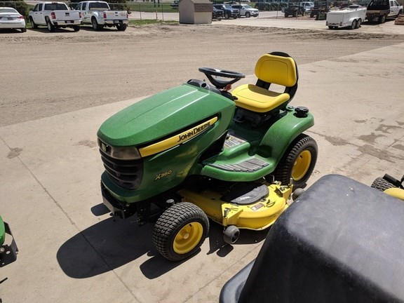 2012 John Deere X360 Riding Mower For Sale