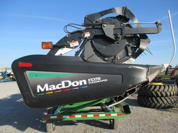 2011 Mac Don FD70-30 Header-Draper/Flex For Sale