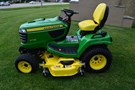 Riding Mower For Sale:  2016 John Deere X738 , 25 HP