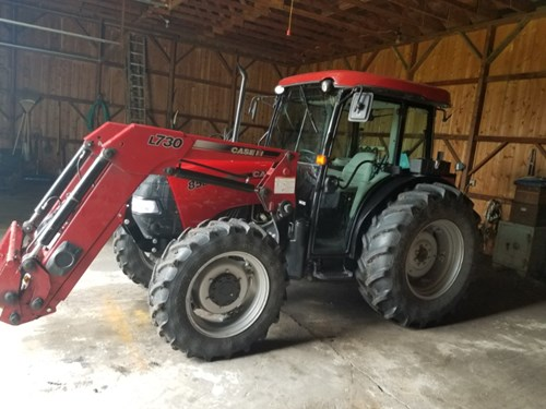 Tractor For Sale:  2010 Case IH 85C , 85 HP