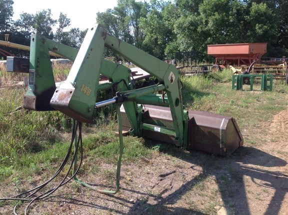 John Deere 148 Front End Loader Attachment For Sale