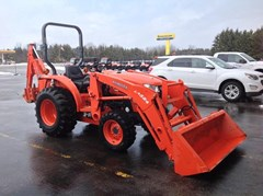 Loader Backhoe For Sale:  2012 Kubota L3200HST