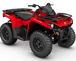 ATV For Sale: 2018 Can-Am 2018 OUTLANDER 450 RED SKU # 5AJA