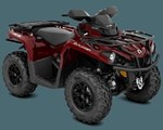 ATV For Sale: 2018 Can-Am 2018 OUTLANDER XT 570 RED SKU # 2UJA