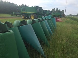 2007 John Deere 893 Header-Corn For Sale