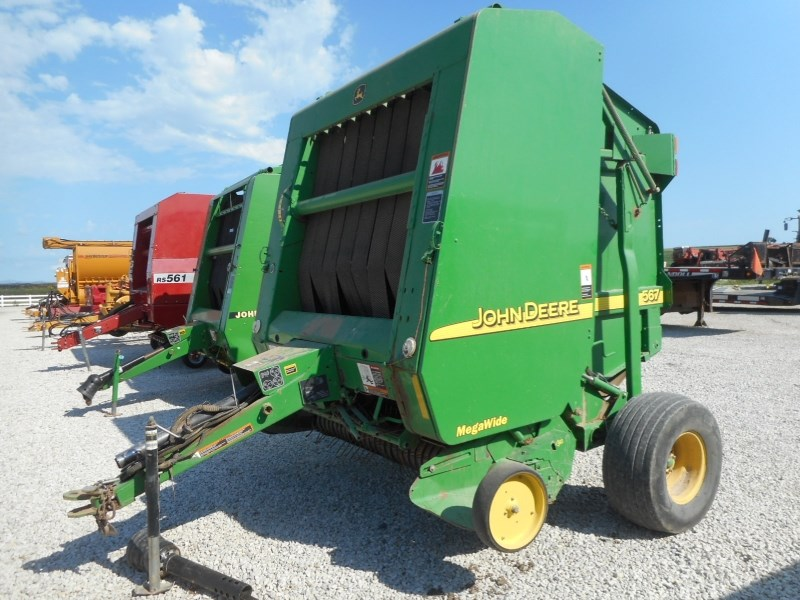 2004 John Deere 567 Baler-Round For Sale
