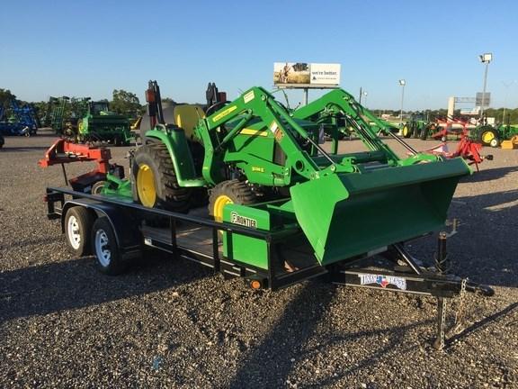 2016 John Deere 3038E Tractor For Sale