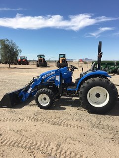 Tractor For Sale:  2015 New Holland BOOMER 54D