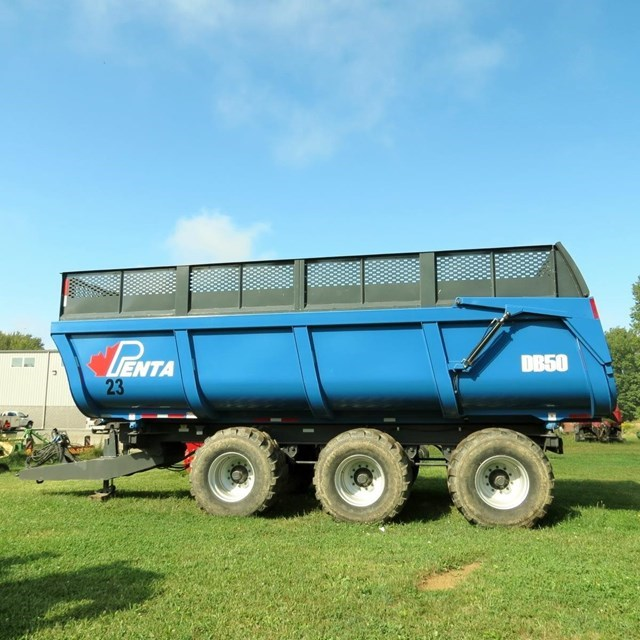 2015 Penta DB50 Forage Box-Wagon Mounted For Sale