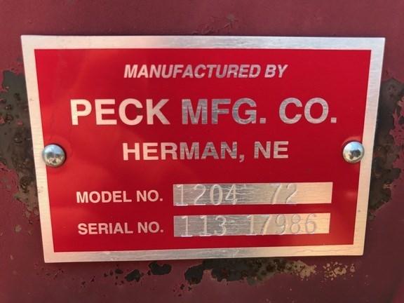 2012 Peck 1204 72 Auger-Portable For Sale