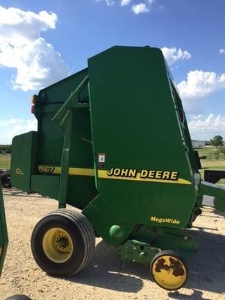 2001 John Deere 567 Baler-Round For Sale
