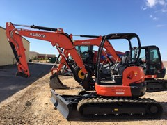 Excavator-Track For Sale:  Kubota U55-4R1A