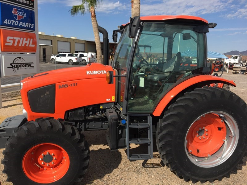 Kubota M6-131DTC-F Tractor For Sale
