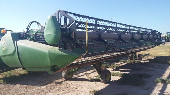 2009 John Deere 635D Header-Draper/Rigid For Sale
