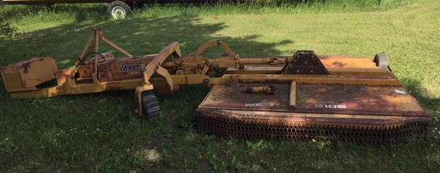 1990 Woods S106-3 Rotary Cutter For Sale