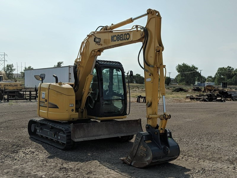 2017 Kobelco SK75SR-3E Excavator Mini For Sale