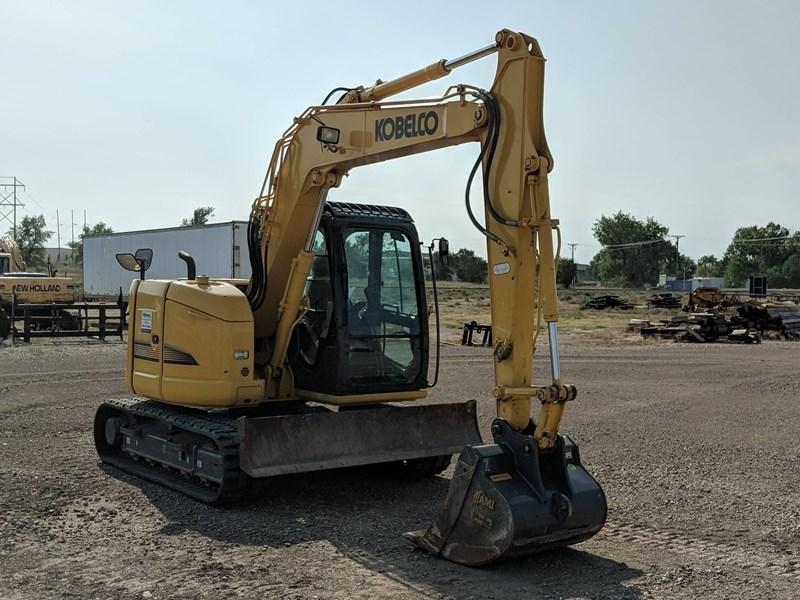 2017 Kobelco SK75SR-3E Excavator Mini For Sale