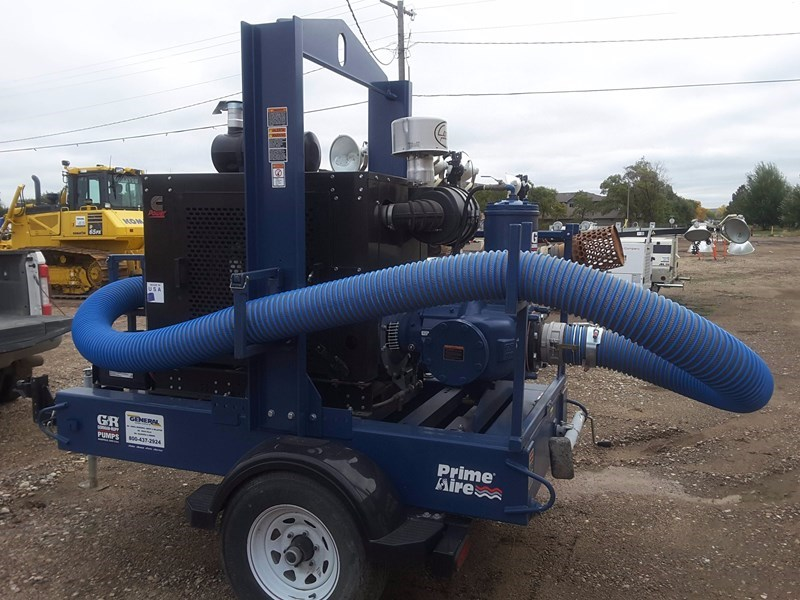 2016 Gorman-Rupp PA6C60-QSB4.5P Pump For Sale