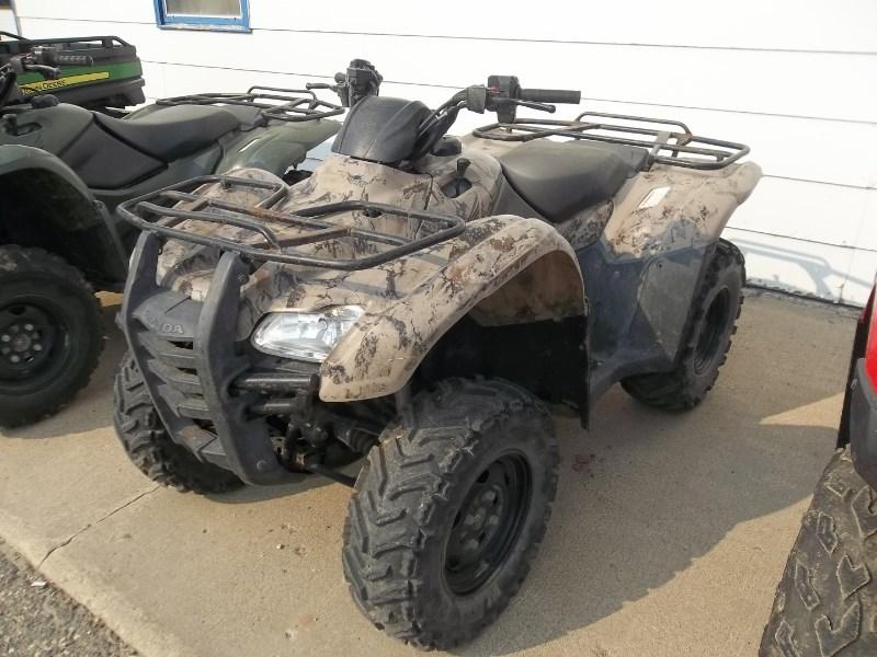 2009 Honda TRX420FA ATV For Sale