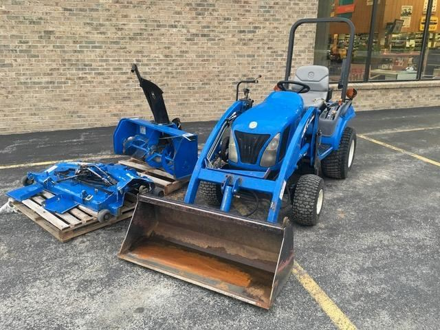 2004 New Holland TZ24D Tractor For Sale