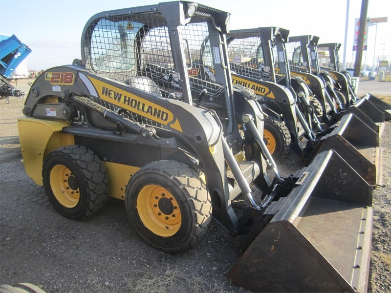 2016 New Holland L218 Skid Steer For Sale