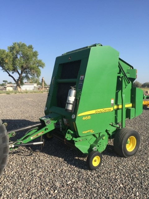 2009 John Deere 468 Baler-Round For Sale