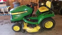 Riding Mower For Sale 2008 John Deere X500 , 25 HP
