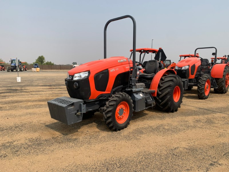 2018 Kubota M5N.111 Tractor For Sale