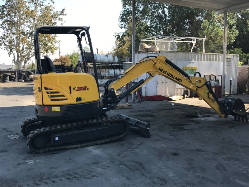 2018 New Holland E33 Excavator-Mini For Sale