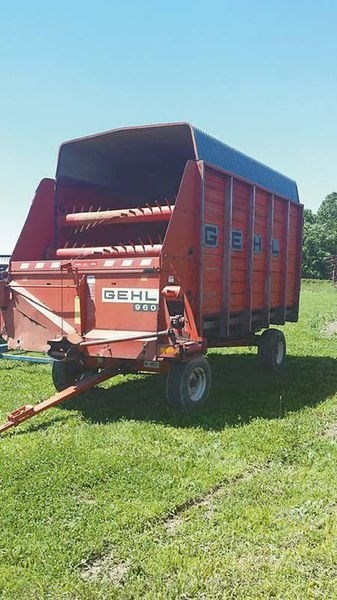 Gehl 960 Forage Box For Sale