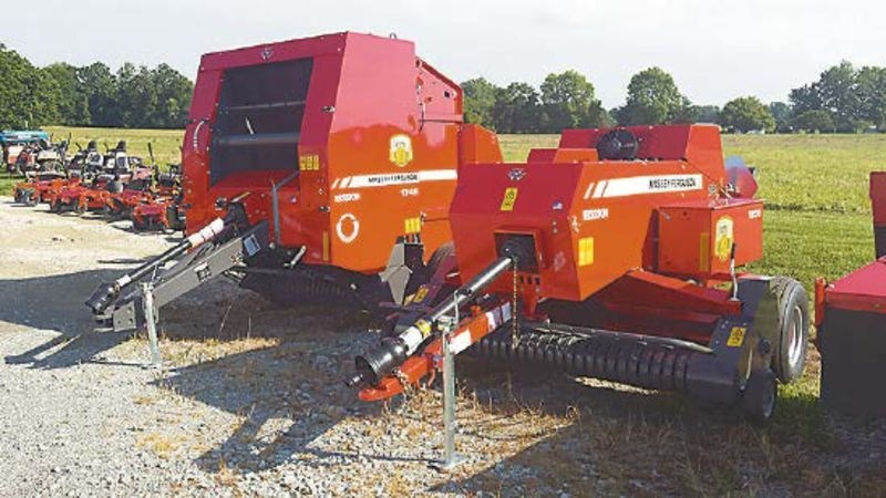 Massey Ferguson 1745 Baler-Round For Sale
