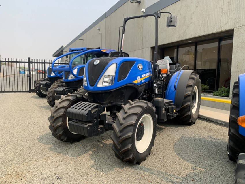 2018 New Holland T4 110F Tractor For Sale » Bakersfield