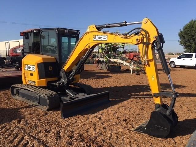 2017 JCB 48Z-1 Excavator-Mini