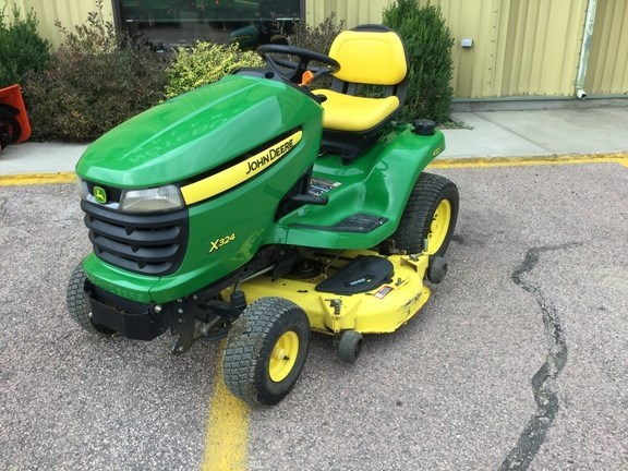 2010 John Deere X324 Riding Mower For Sale
