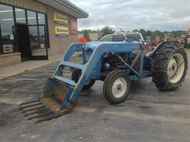 1953 Ford NAA Tractor For Sale