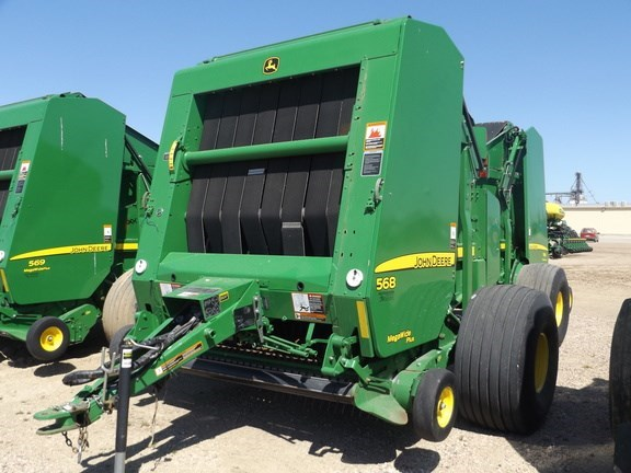 2012 John Deere 568 Baler-Round For Sale