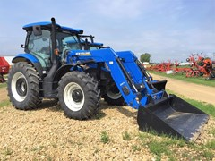 Tractor For Sale 2015 New Holland T6.145 , 115 HP