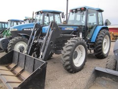 Tractor For Sale:  1996 New Holland 7840SLE , 90 HP