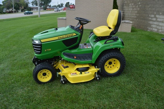 2017 John Deere X738 Riding Mower For Sale