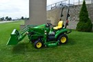 Tractor For Sale:  2016 John Deere 1023E , 22 HP
