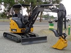 Excavator-Mini For Sale:  2016 John Deere 35G