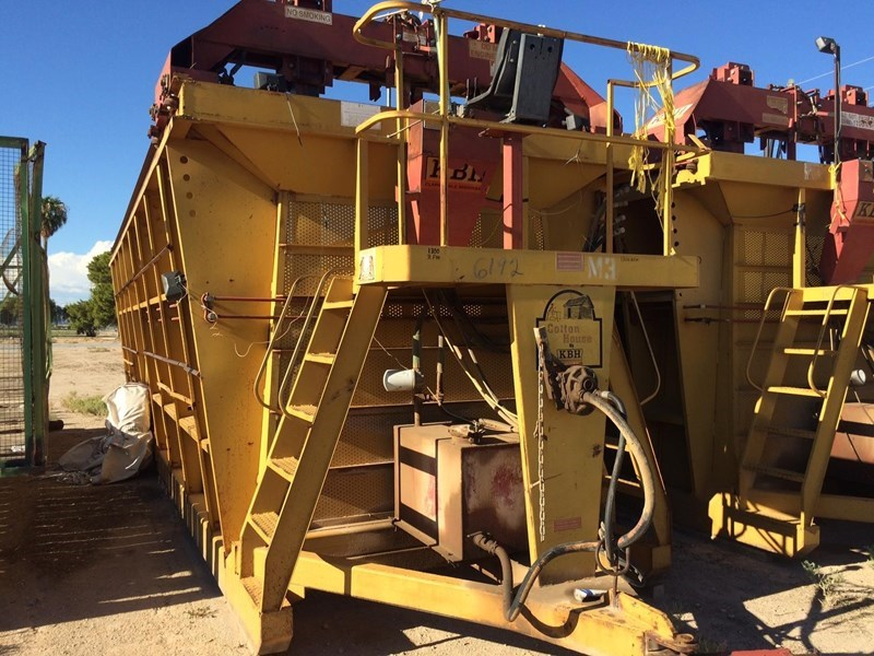 2013 KBH 26 Dry Fertilizer-Transport Auger Trailer For Sale