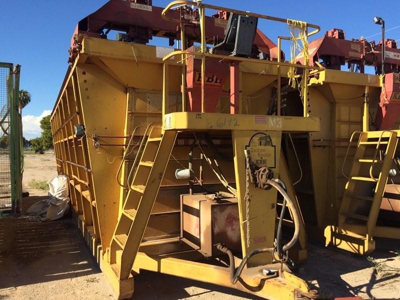 2013 KBH 26 Dry Fertilizer-Transport Auger Trailer For Sale