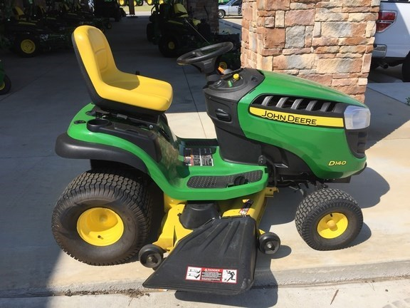 2015 John Deere D140 Riding Mower For Sale
