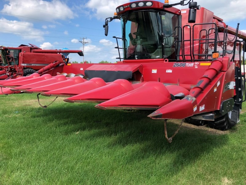 2008 Case IH 2608 Header-Corn For Sale